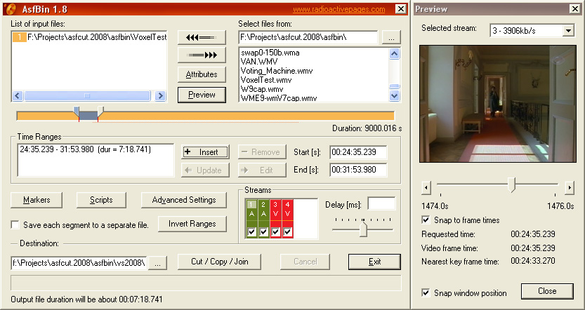 asfbinapp1.8_screenshot
