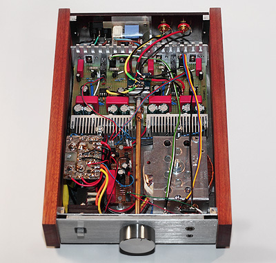 Hi-End Headphone Amplifier (Inside)